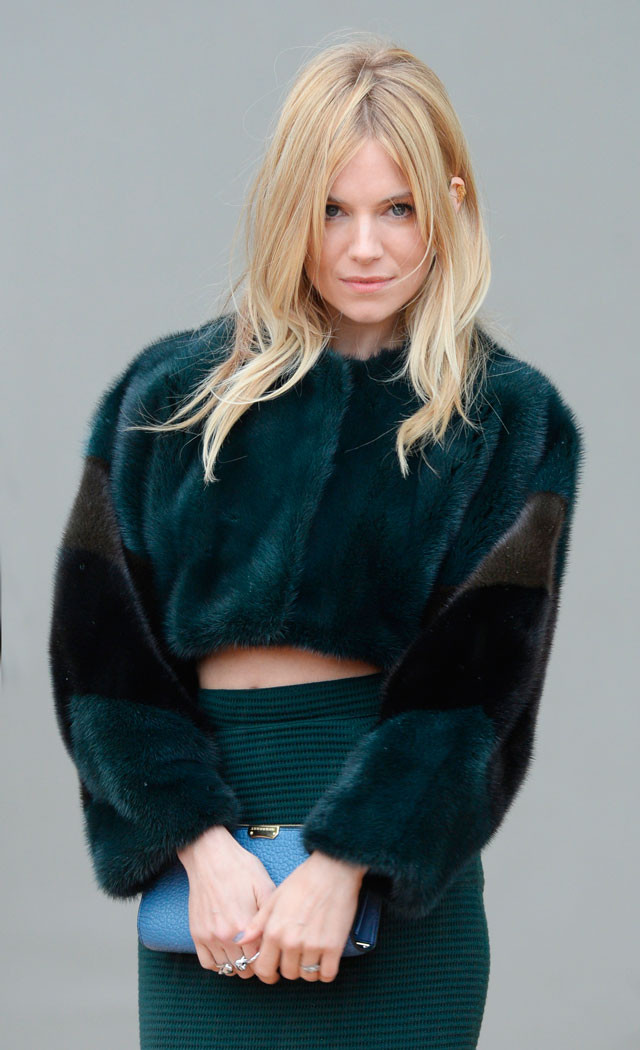 The Crop Tops to The Crop Coats, Sienna Miller and Elena Perminova Dixit