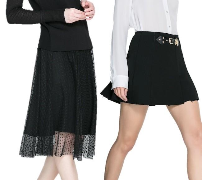 Prendas de vestir exteriores de todos los tiempos  Faldas zara ... 404c5142cad